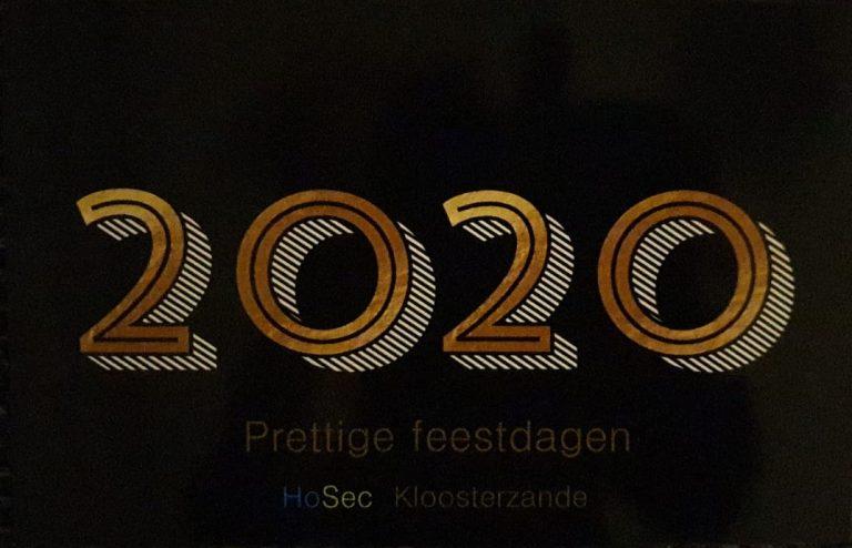 HoSec-Kloosterzande Kerstkaart 2019